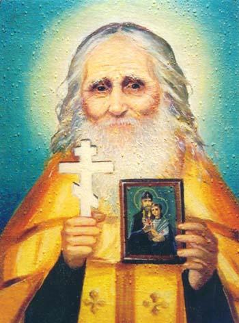 Икона Праведного величайшего Старца Николая Псковоезерского