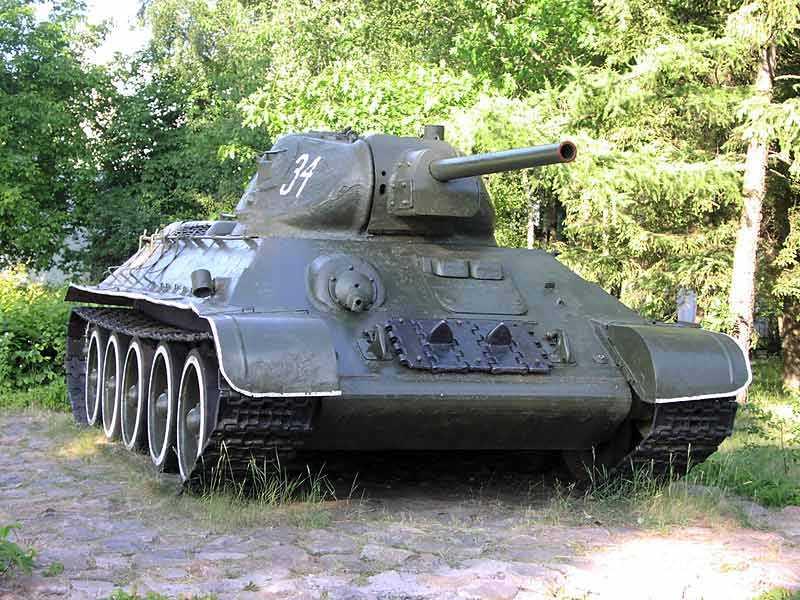 знакомство немцев с т 34