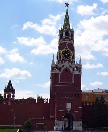 Спасская башня Московскаго